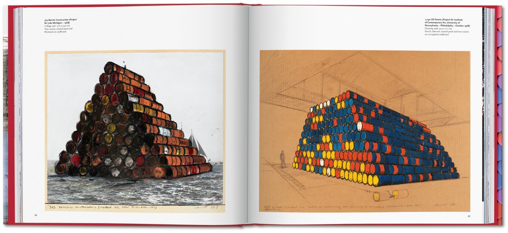 ... Christo and Jeanne-Claude. Barrels and The Mastaba 1958–2018 - image 2  ...