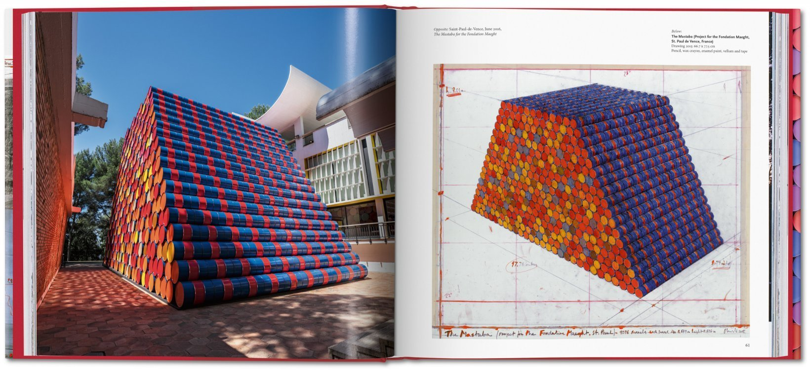 ... Christo and Jeanne-Claude. Barrels and The Mastaba 1958–2018 - image 3  ...