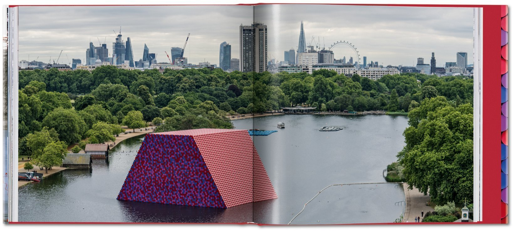 ... Christo and Jeanne-Claude. Barrels and The Mastaba 1958–2018 - image 9  ...