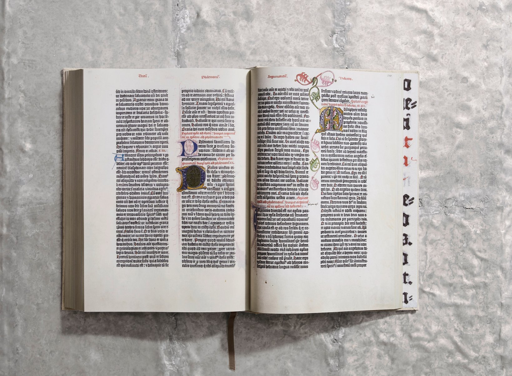... The Gutenberg Bible of 1454 - image 13 ...