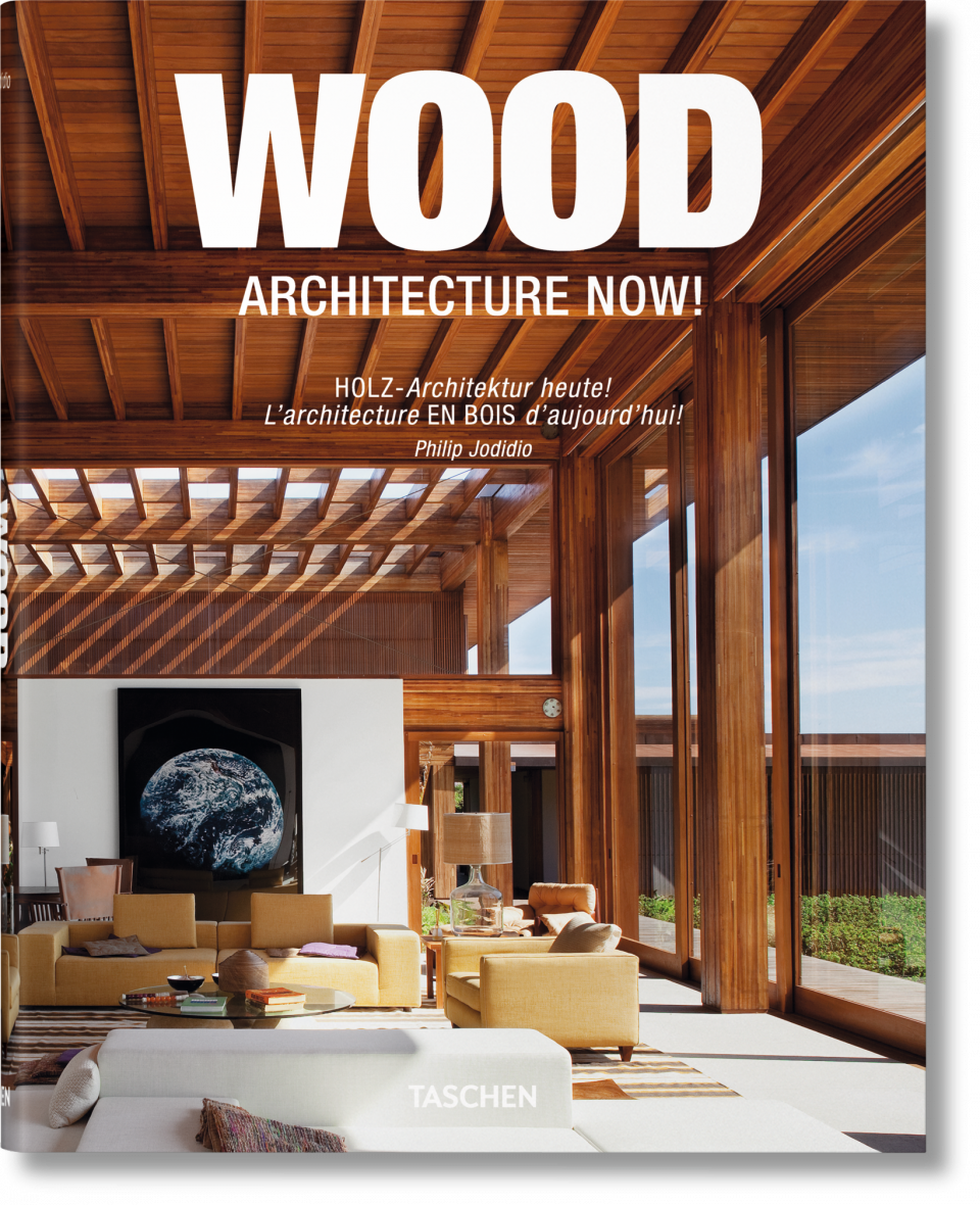 Wood architecture  Wood Architecture Now! Vol. 1 (Midi-Format) - TASCHEN Books