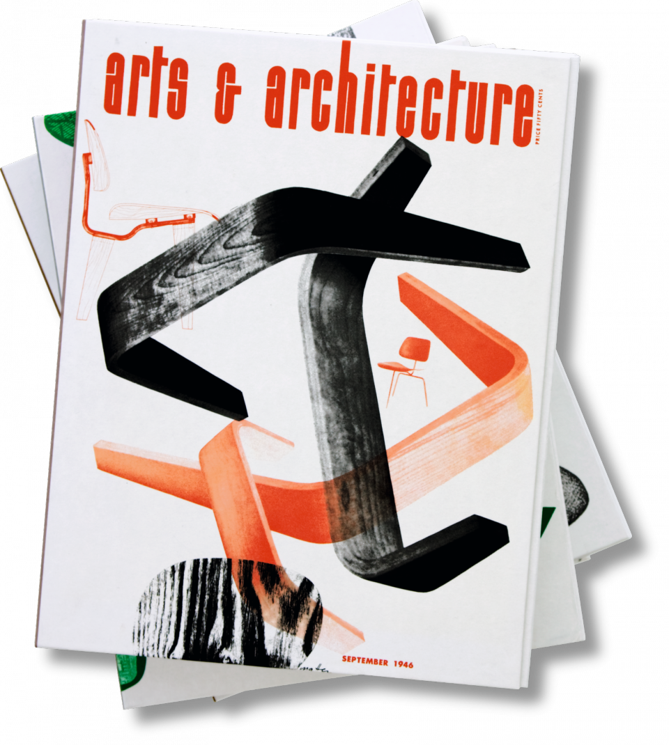 arts architecture 1945 54 the complete reprint taschen books. Black Bedroom Furniture Sets. Home Design Ideas