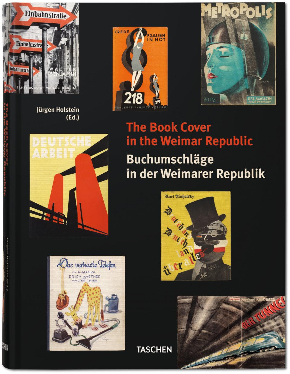 Book Covers in the Weimar Republic, published by TASCHEN Books