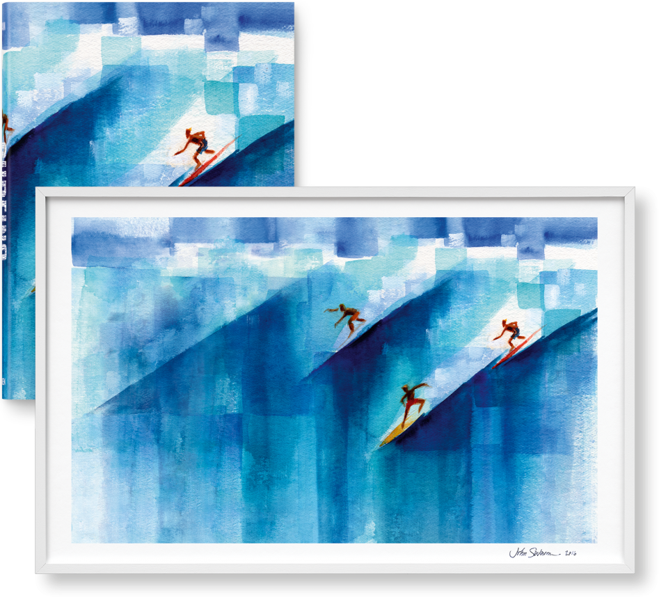 Surfing. 1778–2015. Limited Edition 1-125, \'Wild Angels\' (Limited ...