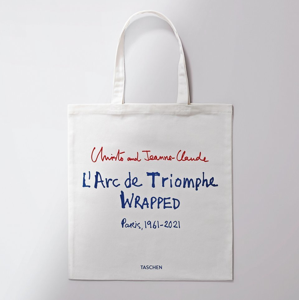 Christo and Jeanne-Claude. L'Arc de Triomphe, Wrapped. Tote Bag - image 1