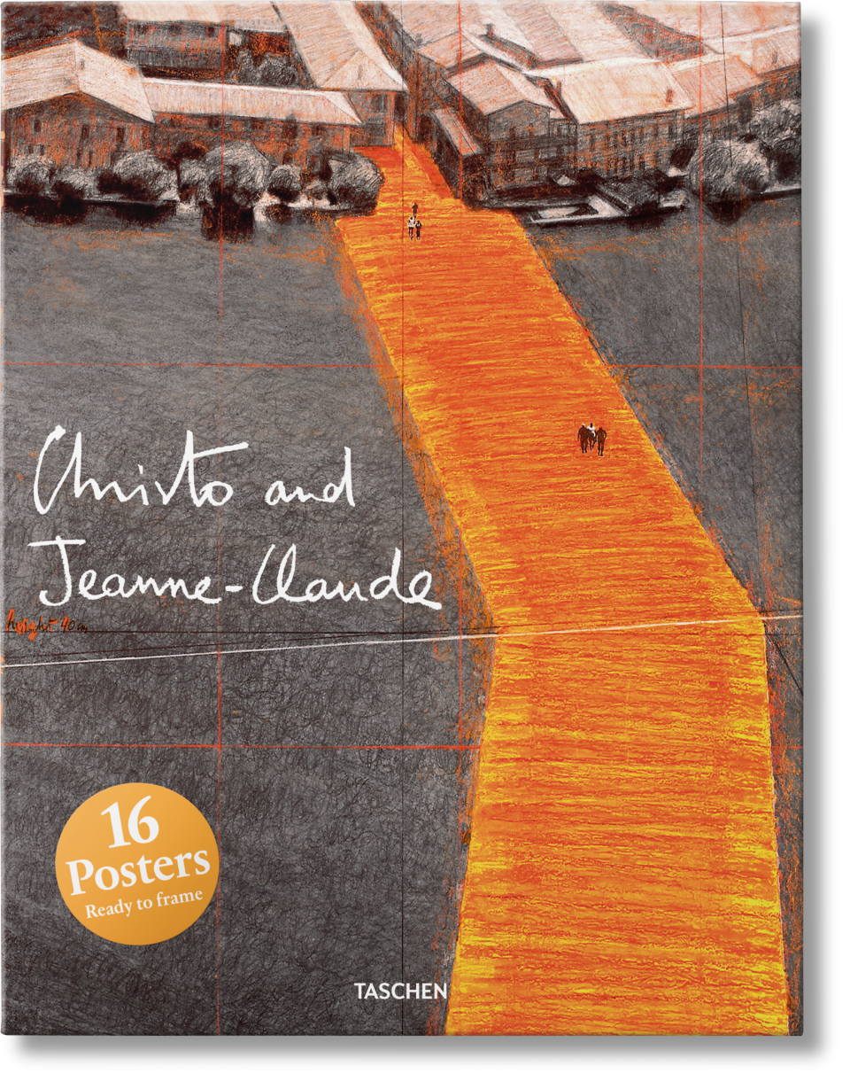Christo and Jeanne-Claude. Poster Set - TASCHEN Books