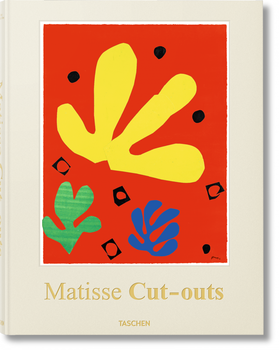 henri matisse cut outs drawing with scissors taschen books