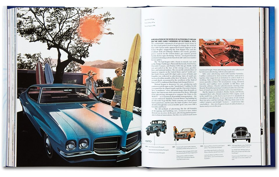 20th Century Classic Cars. 100 Years of Automotive Ads - TASCHEN Books