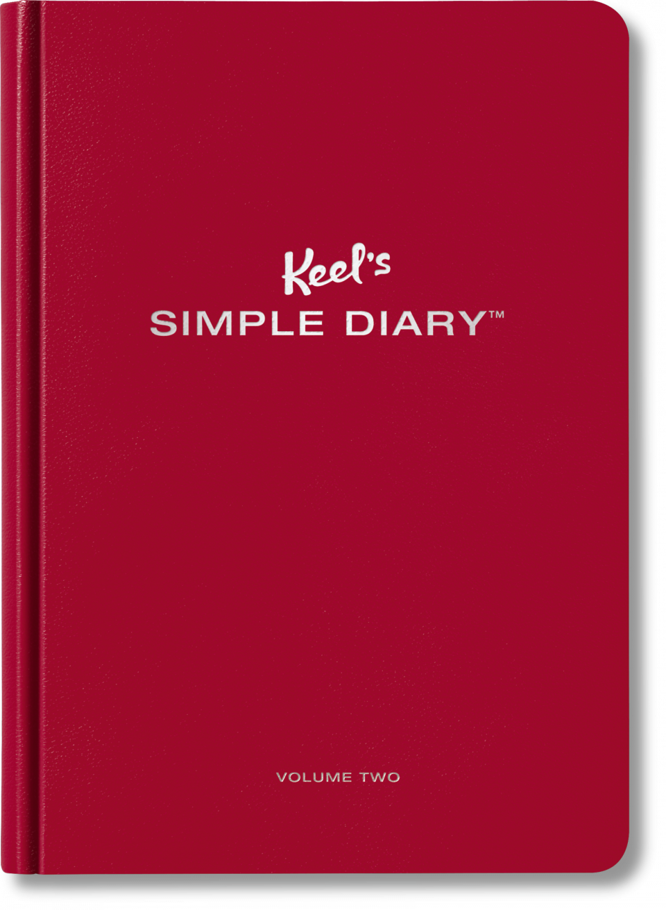 Diary Of An Interior Novice: Keel's Simple Diary Volume Two (dark Red)