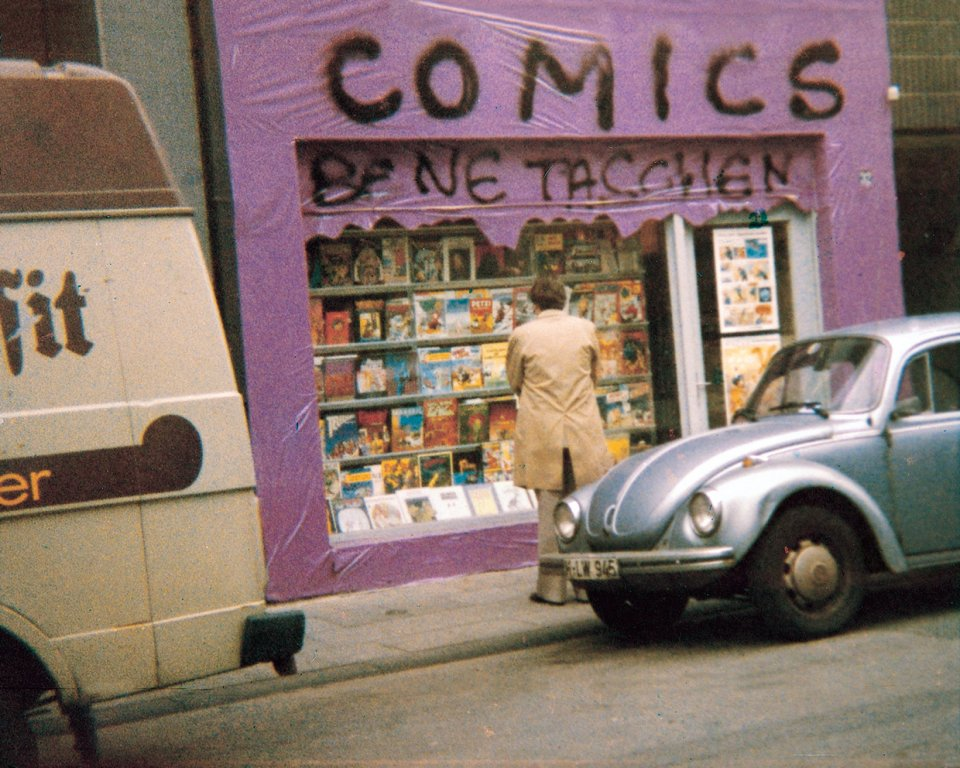 TASCHEN COMICS shop in Cologne, Germany