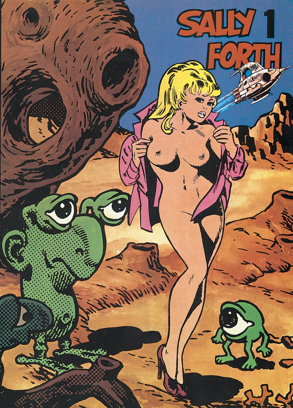The very first TASCHEN COMICS publication, Sally Forth.