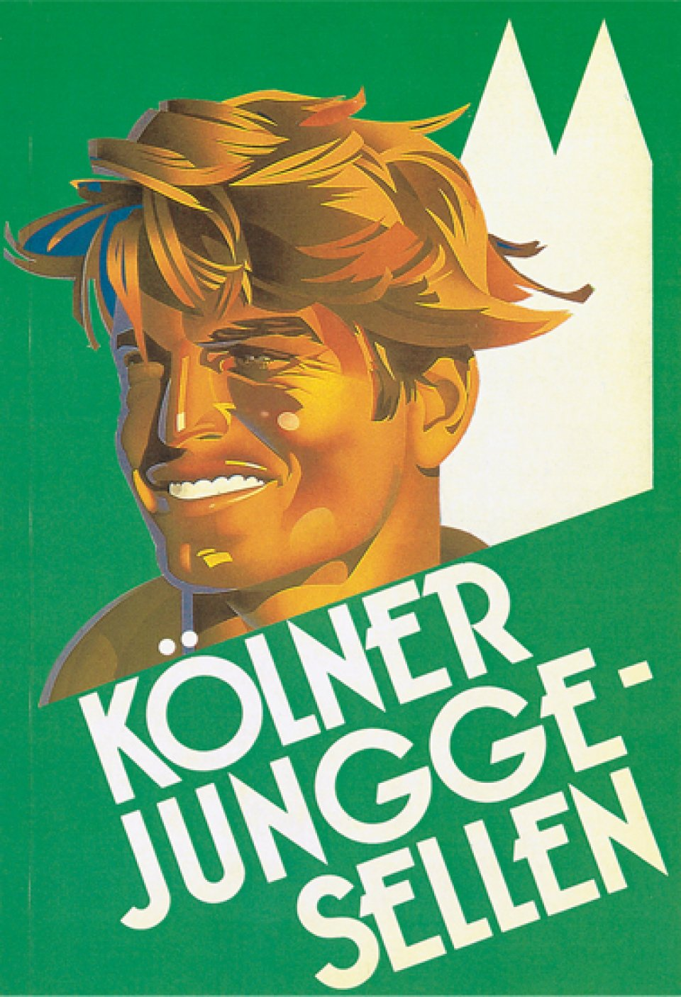 Kölner Junggesellen, i.e. Cologne Bachelors, a photo guide to the city's single men