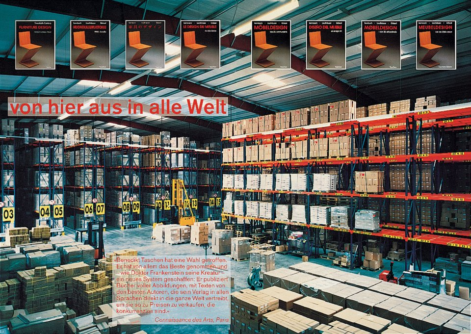 The TASCHEN warehouse