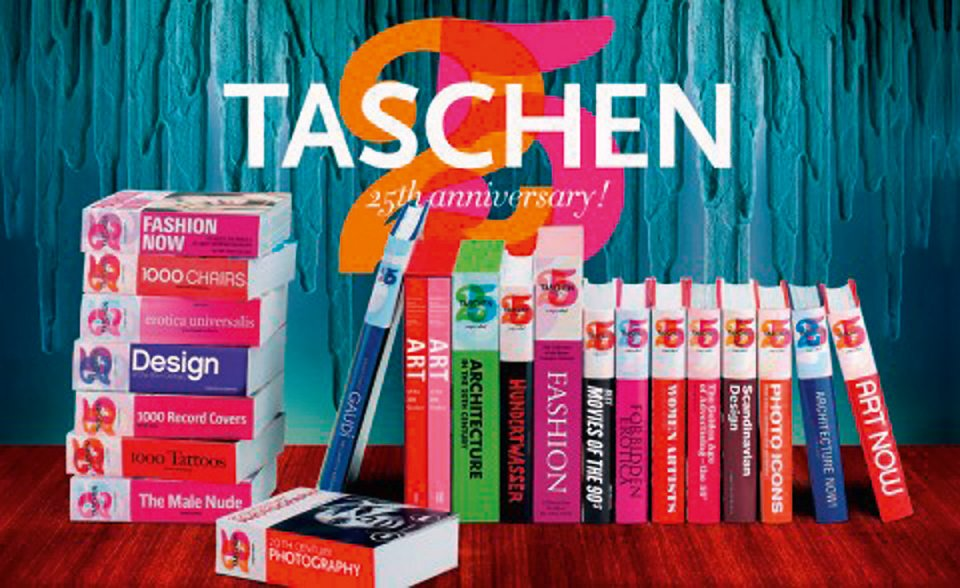 TASCHEN favorites reborn as special 25th anniversary editions
