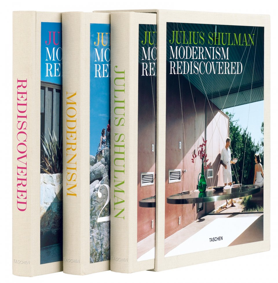 Julius Shulman's triple-volume set of forgotten mid-century architectural masterpieces: Modernism Rediscovered