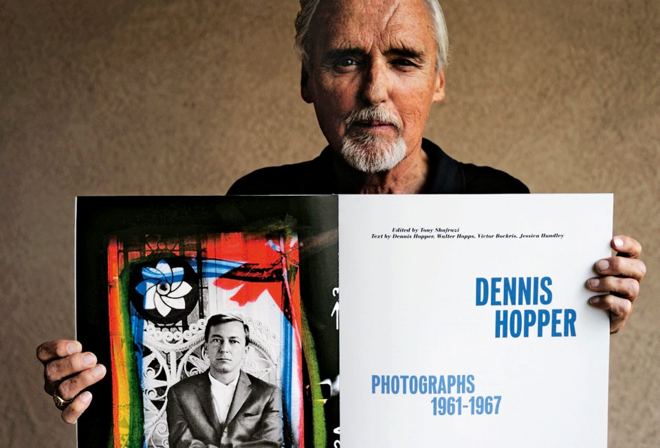 American rebel Dennis Hopper's photo book launches.