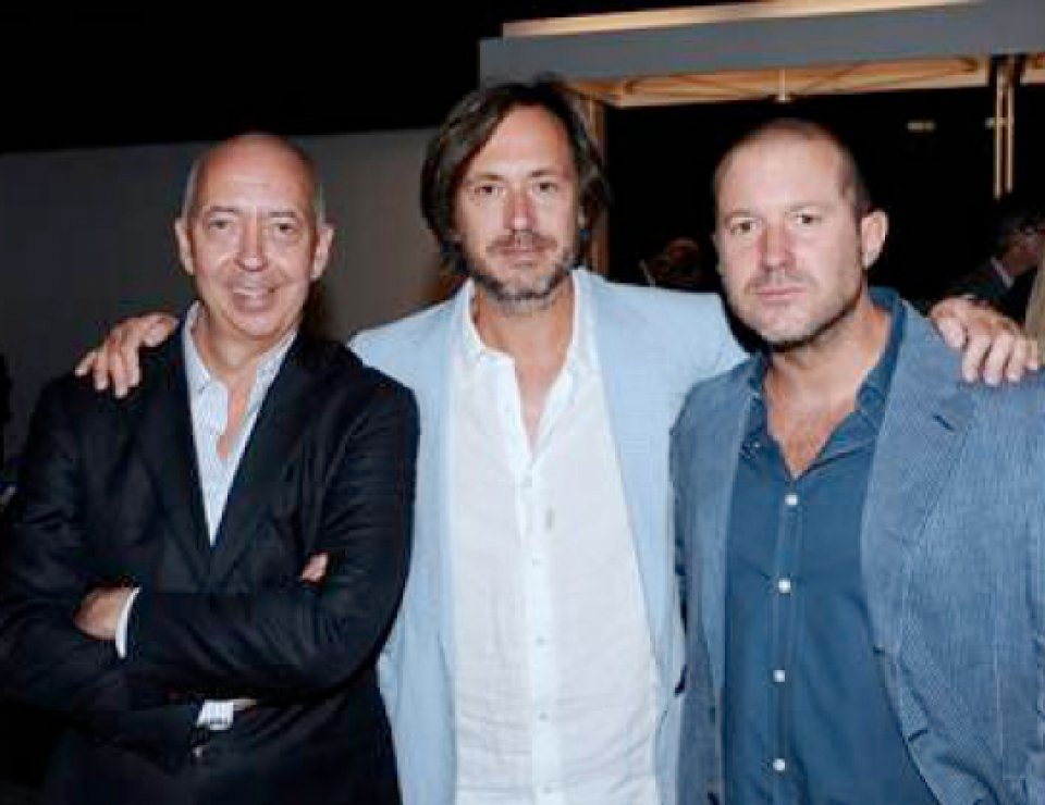 Benedikt Taschen, Marc Newson, and Jony Ive