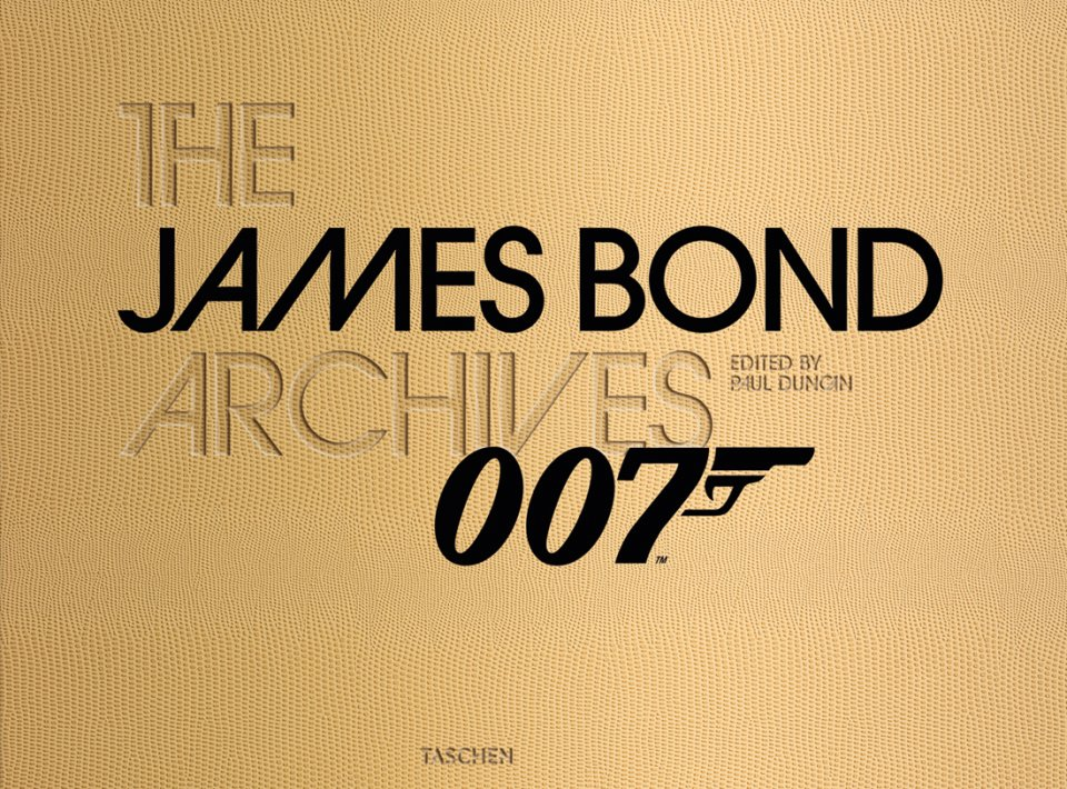The James Bond Archives, published by TASCHEN Books