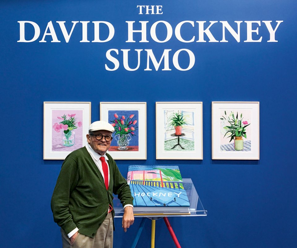 THE DAVID HOCKNEY SUMO