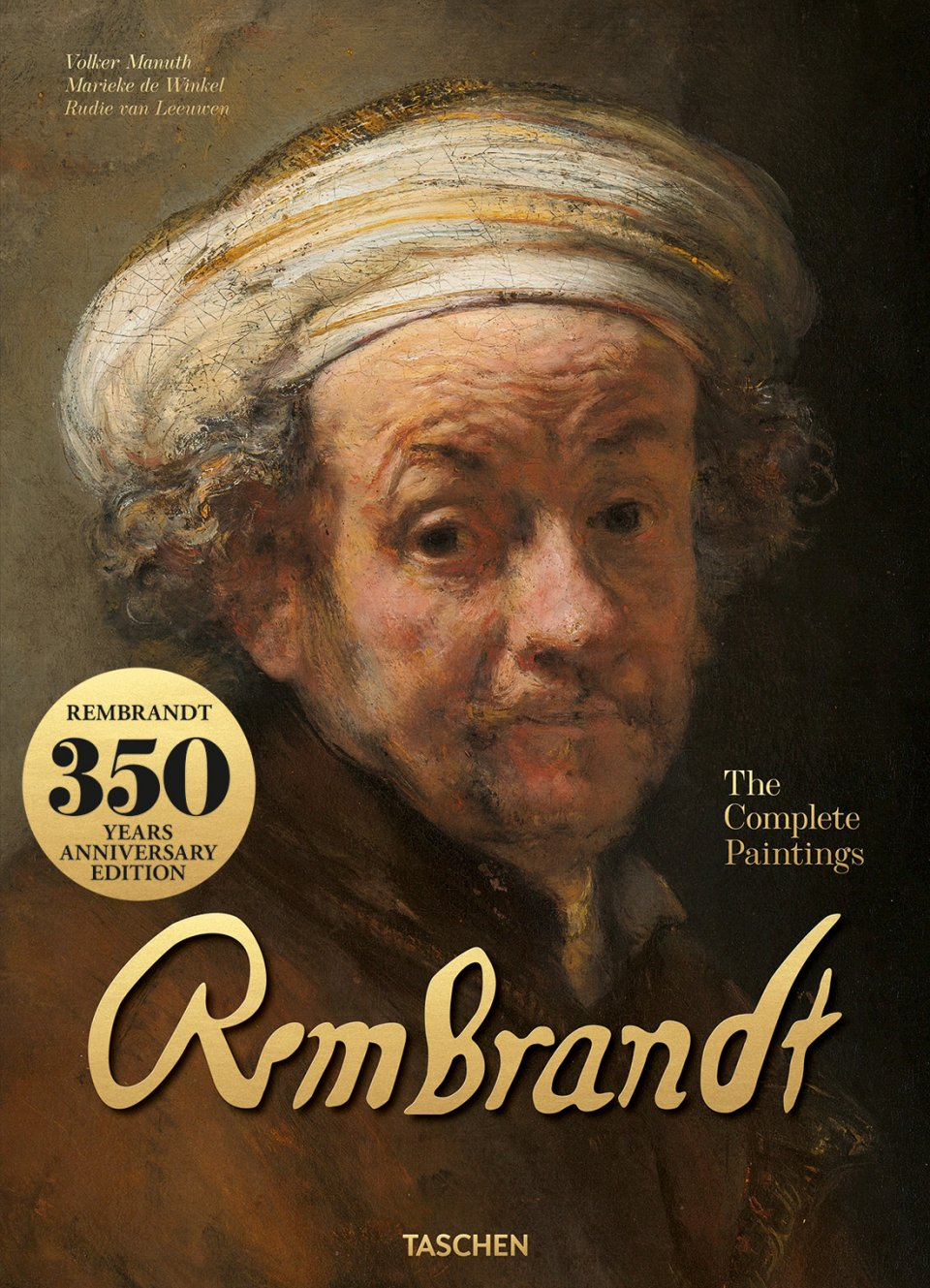 2019 is the year of Dutch master Rembrandt (350 years since his death) with the release of two XL books: The Complete Paintings and The Complete Drawings