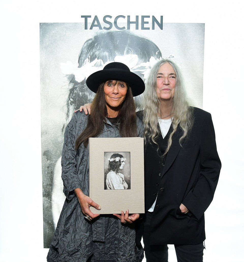 Photographer Lynn Goldsmith and rocker/poet/artist Patti Smith collaborate on their photographic odyssey Before Easter After.